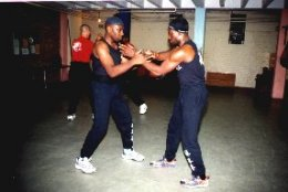 Sifu Garry McKenzie & The Late Peter Coker, The 'Rock', play Chi Sau
