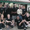 Group photo with Hawkins Cheung (Ip Man's close student  and Bruce Lee's friend), Kowloon Park, Hong Kong.